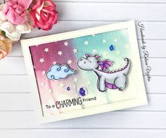 I created this card using the #magicaldragons stamp set from @mftstamps a few months ago but I totally forgot to share it. I had a little…