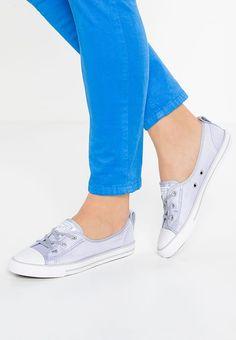 6c073b47a7e3 CHUCK TAYLOR ALL STAR BALLET LACE - Baskets basses - blue  granite white mouse   ZALANDO.BE 🛒