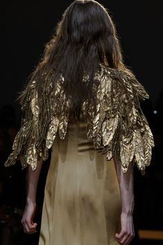 """I'm making these for our magical museum night... dressed as """"autumn"""" of autumn's owlery ....just morphing into an owl"""