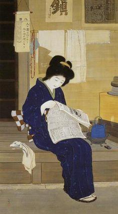 「 そごう美術館で「近代日本画にみる女性の美―鏑木清方と東西の美人画」展を観た(その2)! 」の画像|とんとん・にっき|Ameba (アメーバ)