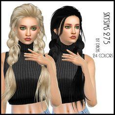 My Sims 4 Blog: Hair - Braids