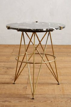 Marble Top Side Table, $298                                                                                                                                                                                 More