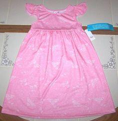 d7f44d9bae Nwt New Disney Princess Nightgown Pajamas Tiara Crown Pink Nice Cute Girl 4