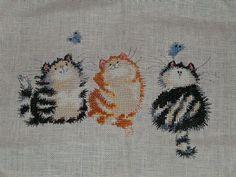 Margaret Sherry Cat-erflies. Nov 2004