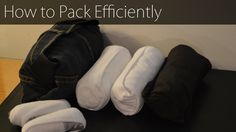 When traveling it's important to pack efficiently, organized and smart. The method I show in this video is rolling the clothing into a tight bundle that make...