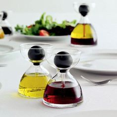 """Lakeview Oil and Vinegar Pipette Set Kitchen """" Dining. Smooth Squeeze Bulb The top of each pipette features a small, squeezable bulb, allowing you to add just the right amount of oil vinegar to your foods. Cool Kitchen Gadgets, Kitchen Items, Kitchen Utensils, Kitchen Products, Kitchen Stuff, Kitchen Dining, Kitchen Cook, Family Kitchen, Kitchen Things"""