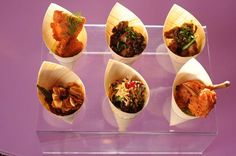 It's amazing how much you can simplify your wedding food by having an Indian Tapas bar. Include these munchies – papri chat, masala peanuts, sundal, dry poha, diced chicken bits…and your list can simply go on.