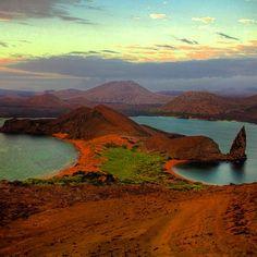 Morning at Isla Espanola, Galapagos. There is also beautiful rigged landscape. #Galapagos #islaespanola #equator #travel #explore