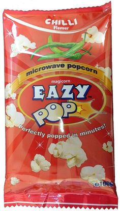 Eazy Pop Chilli Microwavable Popcorn, 16 X 100g    Enjoy this Great Gift. Check By_touch2 and Grab this offerNow!