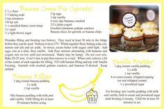 Banana Cream Pie Cupcakes