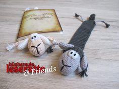 Das Leseschaf - Büchereule Leseratte & Friends D Book, Crochet Mobile, Book Markers, Crochet Bookmarks, Textile Art, Tatting, Crochet Patterns, Cross Stitch, Textiles