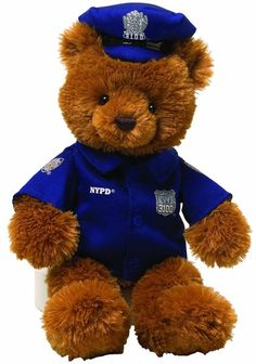 Va. state Police has a version like this one. They are to be given to children to clam them in a bad situation.