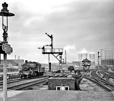 Disused Stations: Saltley Station Old Train Station, Disused Stations, Train Room, Road Construction, Steam Railway, Birmingham England, British Rail, Old Trains, Steamers