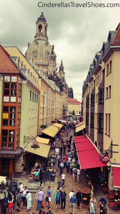 One of the prettiest towns in Germany is Dresden, called also The 'Florence of the Elbe'. Read more about what Dresden in Germany can offer. Travel Shoes, Dresden, Florence, Terrace, Times Square, Germany, Beach, Life, Balcony