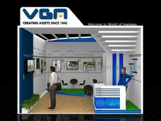 Exhibition Stall, Exhibition Stand Design, Expo Stand, Gate Design, One Sided, Trade Show, Business Design, Branding Design, Cool Designs