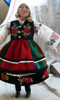 Doll in Polish costume