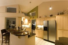 Kitchen+Color+Ideas | Kitchen painting ideas transformed kitchen into a great family meeting ...