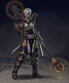Diablo  Monk By Zlide On Deviantart Diablo  Characters