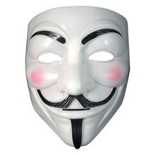 V For Party Cosplay Vendetta Mask Guy Fawkes Anonymous Halloween Fancy Dress Costume Venetian Carnival Mask Anonymous Scary Mask(China (Mainland))