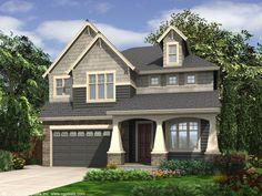 house plans cottage craftsman | Plan 024H-0003 - Find Unique House Plans, Home Plans and Floor Plans ...