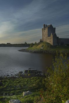 Dunguaire Castle -Galway ,Ireland  Walter Earl of Ulster DeBurgh ,my 23 Great grandfather lived and died there,1223.