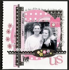 Image result for scrapbook layouts for engagement