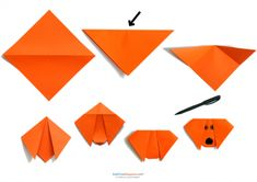 Fold up some fun with this easy origami printable! Help your children work on their finger dexterity this summer while staying out