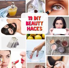 19 DIY BEAUTY HACKS You Want to Know! #Beauty #Musely #Tip