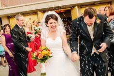 Wedding rice from Michaels - worked out perfectly!  Katie & AJ » Ruby Star Photography & Cinema