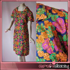 25% off this Vintage 1950s  Print Wiggle Pin Up Summer Dress today! #sale #vintagedress  http://www.ebay.co.uk/itm/Vintage-1950s-Superb-Abstract-Flowered-Print-Wiggle-Pin-Up-Summer-Dress-UK16-/282050577642