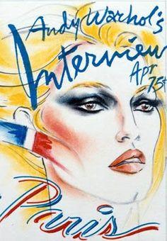 Antonio Lopez #Illustration, fashion illustration, fashion, art, illustration, drawing, painting
