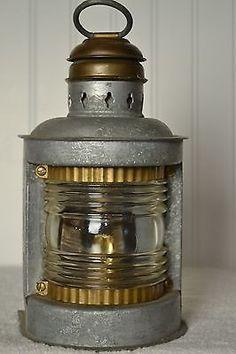 Kilborn Saur Vintage Navigation Lantern