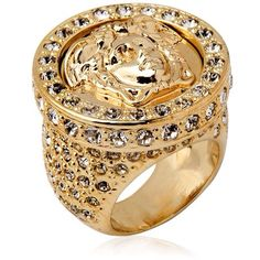 Shop Women s Versace Rings on Lyst. Track over 287 Versace Rings for stock  and sale updates. 223274e340d