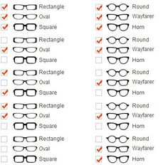 how to choose eyeglass frames for face shape