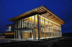 Nanaimo Cruise Ship Terminal Design by Checkwitch Poiron Architects - Architecture & Interior Design Ideas and Online Archives Modern Buildings, Beautiful Buildings, Architecture Details, Modern Architecture, Residential Architect, Terminal, Timber House, Vancouver Island, Building Design