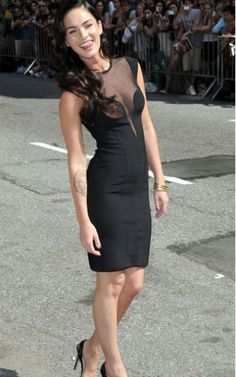 Megan Fox Bandage Herve Leger Black Short Dress