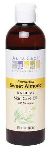 Aura Cacia Aura Cacia Nurturing Sweet Almond Natural Skin Care Oil 16Ounce Bottle * Visit the image link more details.