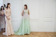 Paris, Couture. Georges Hobeika