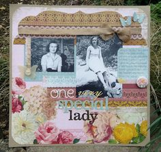 Clare's lovely page for the May edition