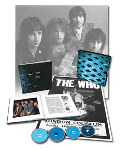 The Who Tommy 3CD/1-Blu-Ray Pure Audio Disc Box Set Limited Edition Super Deluxe Box Set Of The Who's Classic Concept Album! Features Re-Mastered Album, 5.1 Surround Sound Mix Plus Previously Unreleased Material!