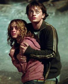 Hermoine Granger and Harry Potter