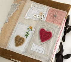 Art Quilt Journal (Truth). $75.00, via Etsy by Rebecca Sower.