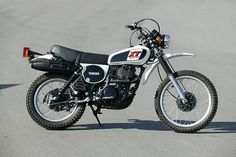 Yamaha XT 500 - Probably the most beautiful bike ever built.
