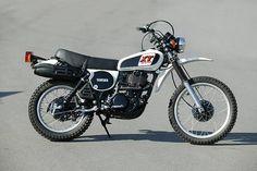 Yamaha XT 500 - Probably the most beautiful bike ever built.