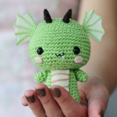 Grab this Super Cute FREE Tiny Dragon Amigurumi Crochet Pattern. Browse more Dragon Patterns or other Fantasy Creatures, and many other Genres • wixxl.com