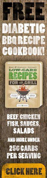 Free Diabetic BBQ Recipe Cookbook