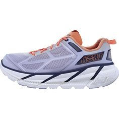 Hoka W Clifton Sz 6 Womens Running Shoes Purple New In Box ** Click image for more details.