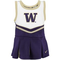 Nike Washington Huskies Toddler Purple 2-Piece Cheerleader Dress Set