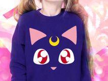 Moon Kitty Pulli Kinder