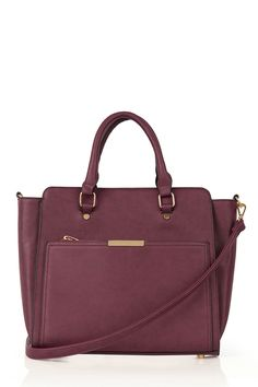 Womens damson bag from Oasis - £34 at ClothingByColour.com